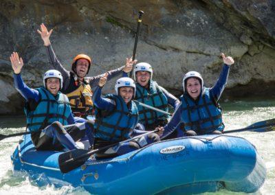 Vacaciones con deportes de aventura en el Pirineo en Murillo de Gallego