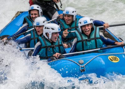 Rafting en primavera UR Pirineos