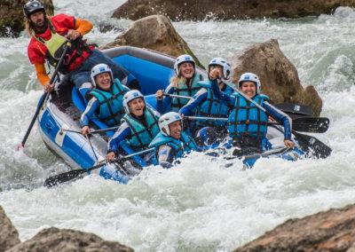 Semana Santa Rafting en Huesca UR Pirineos